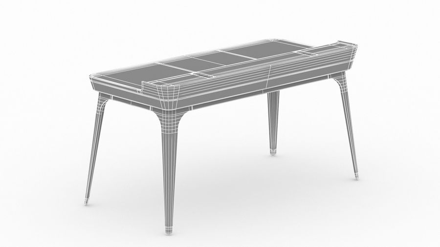 Bureau Herman Miller Airia royalty-free 3d model - Preview no. 30