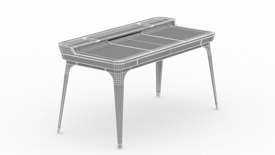 Bureau Herman Miller Airia royalty-free 3d model - Preview no. 24