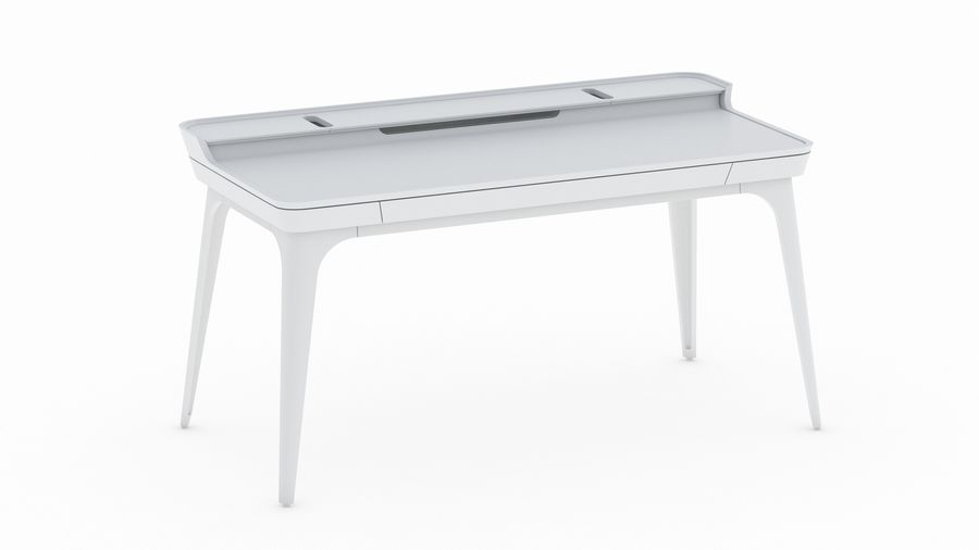 Bureau Herman Miller Airia royalty-free 3d model - Preview no. 2
