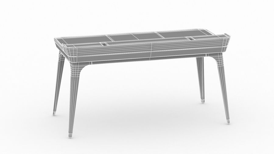 Bureau Herman Miller Airia royalty-free 3d model - Preview no. 29