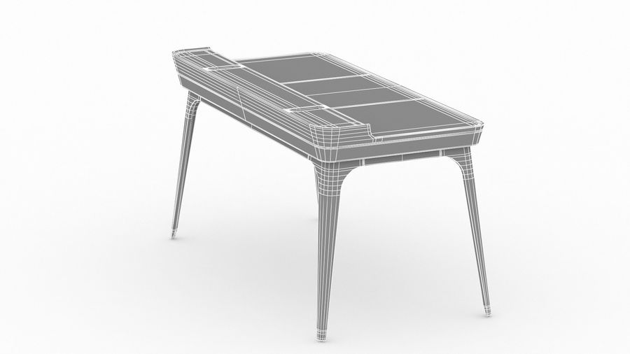 Bureau Herman Miller Airia royalty-free 3d model - Preview no. 26