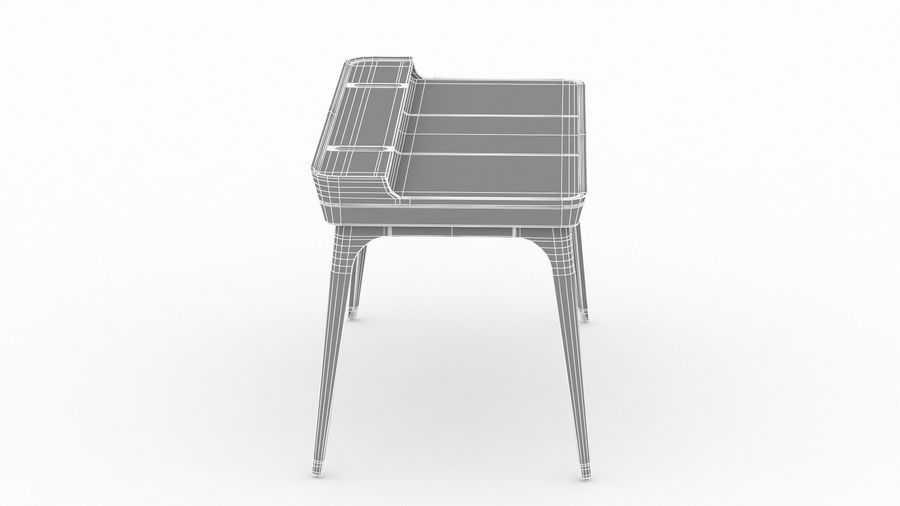 Bureau Herman Miller Airia royalty-free 3d model - Preview no. 25