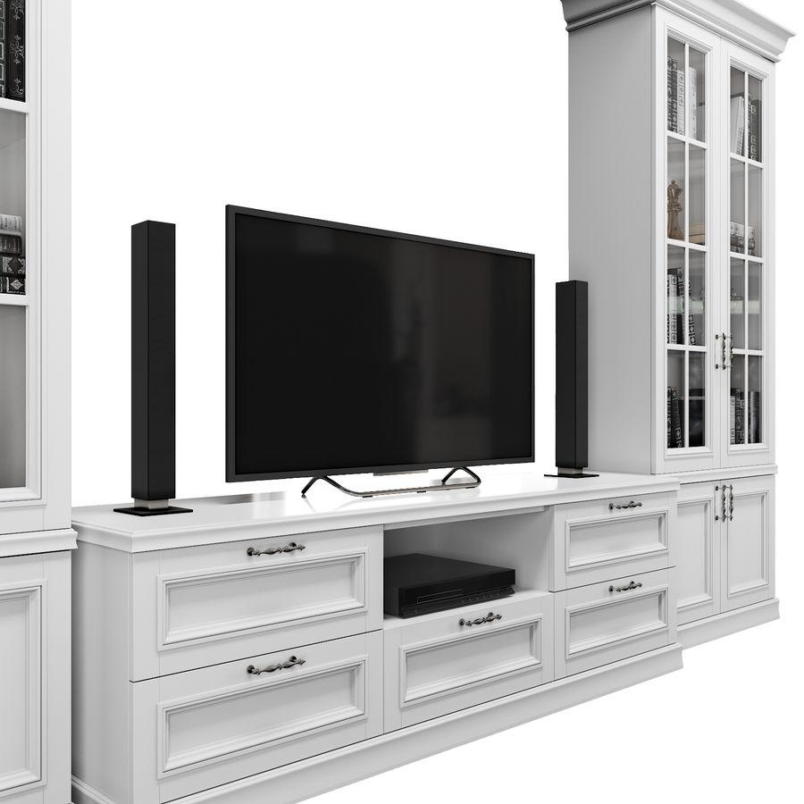 Zestaw do salonu royalty-free 3d model - Preview no. 4