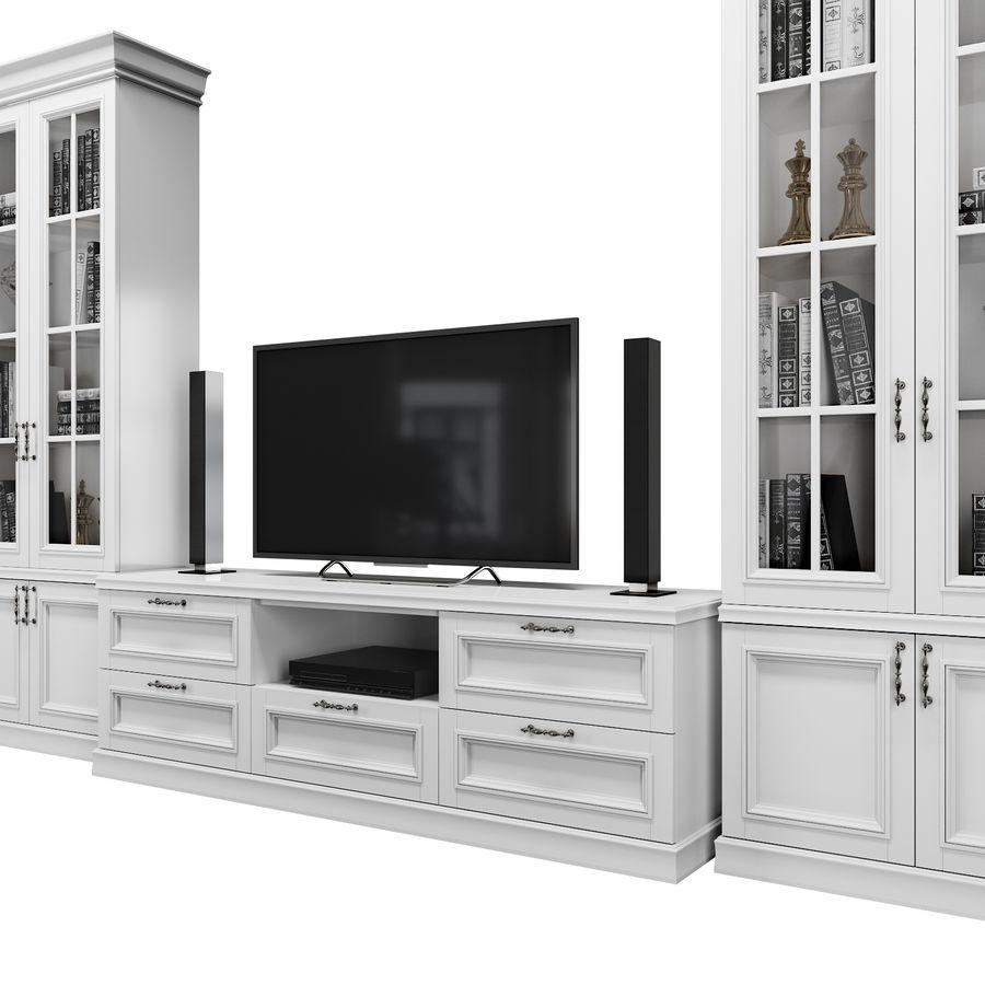 Zestaw do salonu royalty-free 3d model - Preview no. 2