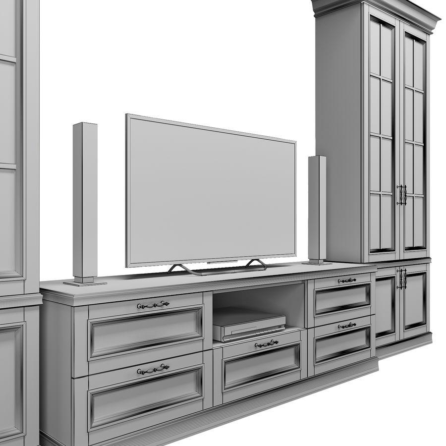 Zestaw do salonu royalty-free 3d model - Preview no. 11