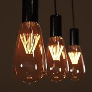 エジソン電球 3d model