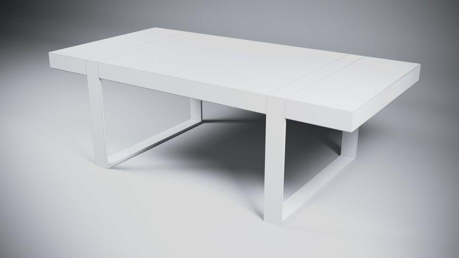 Деревянный Современный Стол royalty-free 3d model - Preview no. 6