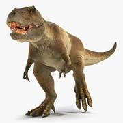 Animasyonlu Tyrannosaurus Rex Rigged Koşu 3d model