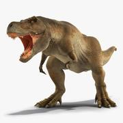 Animasyonlu Tyrannosaurus Rex Roaring Rigged 3d model