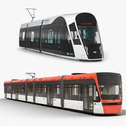 Spårvagnssamling 3d model