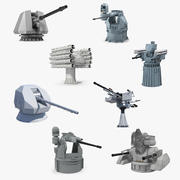 Deck Guns Collection 2 3d model