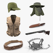 Hunting Equipment Collection 3 3d model