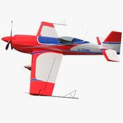 Samolot akrobacyjny Extra EA-300 3d model