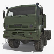 Russischer Geländewagen Kamaz 6560 Dirty 3d model