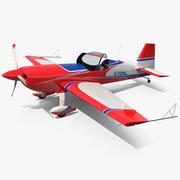Jednopłat akrobacyjny Extra EA-300 uzbrojony 3d model
