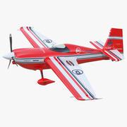 Пилотажный самолет Zivko Edge 540 Rigged 3d model