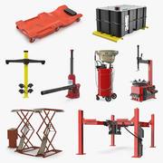 Garage Equipment Collection 2 3d model