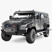 Opancerzona ciężarówka SWAT Pit-Bull VX 3d model