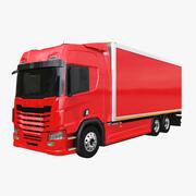 Camion fourgon générique 3d model