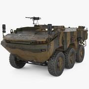 Отокар Арма 3d model