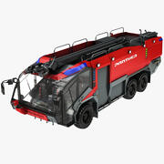Пожарная машина Rosenbauer Panther 6x6 3d model