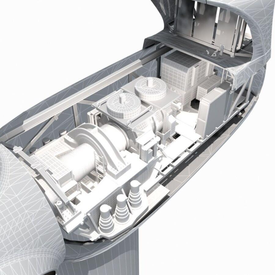 generador de viento (1) royalty-free modelo 3d - Preview no. 4