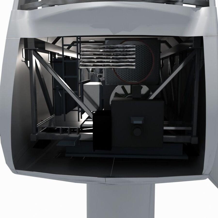 generador de viento (1) royalty-free modelo 3d - Preview no. 20