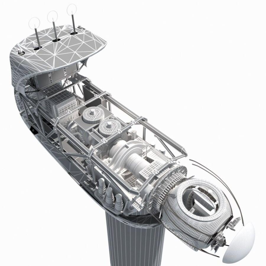 generador de viento (1) royalty-free modelo 3d - Preview no. 16