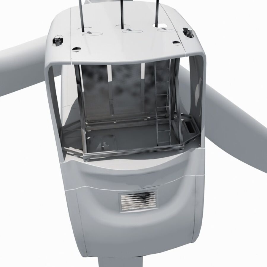 generador de viento (1) royalty-free modelo 3d - Preview no. 13