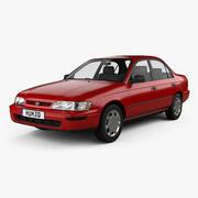トヨタカローラセダン1995 3d model