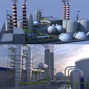 Factories Collection 3d model