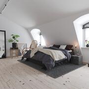 Wohnung Schlafzimmer Interieur 3d model