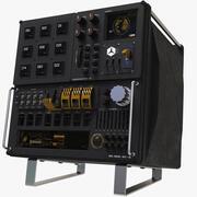 Sci-Fi Control Panel 3d model