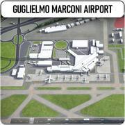 Аэропорт Болоньи Гульельмо Маркони 3d model