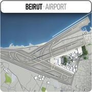 ベイルート-ラフィクハリリ国際空港 3d model