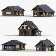 Collezione GameReady House 2 3d model