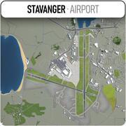 スタヴァンガー空港 3d model