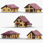Collezione GameReady House 3 3d model