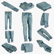 Colección de jeans 1 modelo 3d