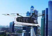 İçeride Hidrojenle çalışan Hava Otobüsü 3d model