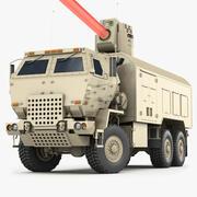 レーザー兵器システム 3d model