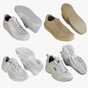 Sneakers Collection 1 3d model