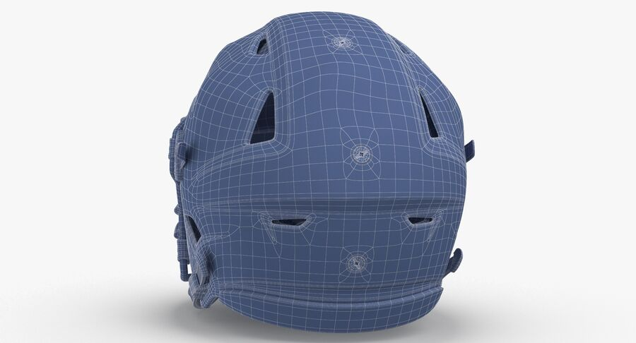 Kask piłkarski Riddell SpeedFlex Rusty royalty-free 3d model - Preview no. 14