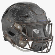 Football Helm Riddell SpeedFlex Rusty 3d model