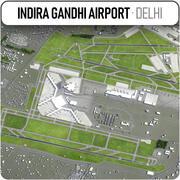 インディラガンディー国際空港 3d model
