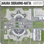 スカルノハッタ国際空港 3d model