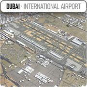 ドバイ国際空港-DXB 3d model