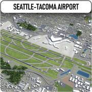 Aeroporto Internacional de Seattle-Tacoma - SEA 3d model