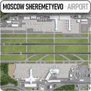 Aeroporto internazionale di Sheremetyevo - SVO 3d model