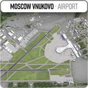 Aeroporto internazionale di Vnukovo - VKO 3d model